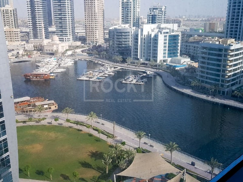 1-Bed | Closed Kitchen | Marina View