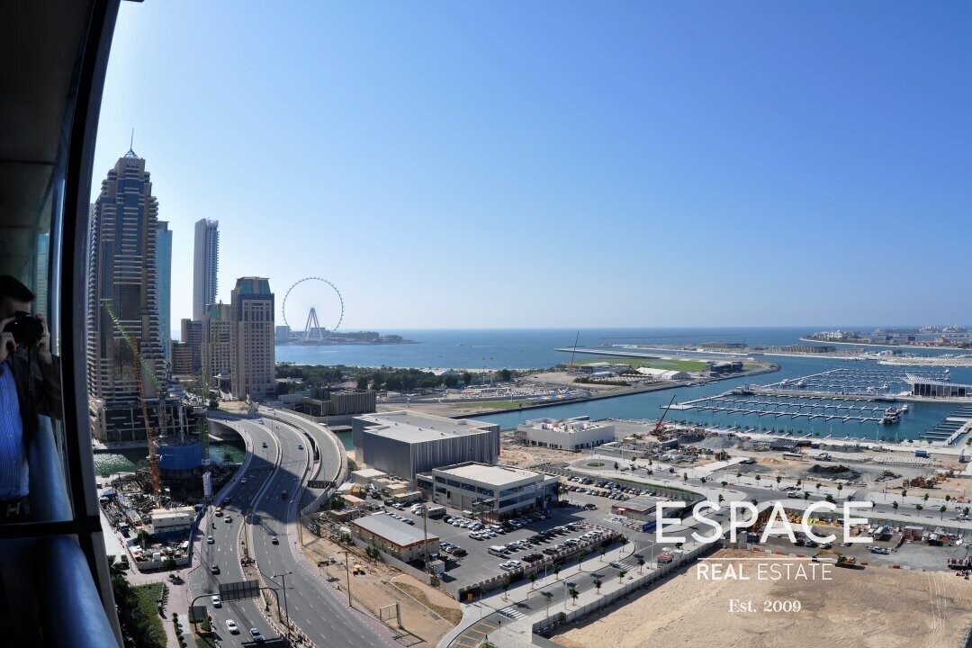 Sea Views | Luxury Furnished 3 Beds | Vacant
