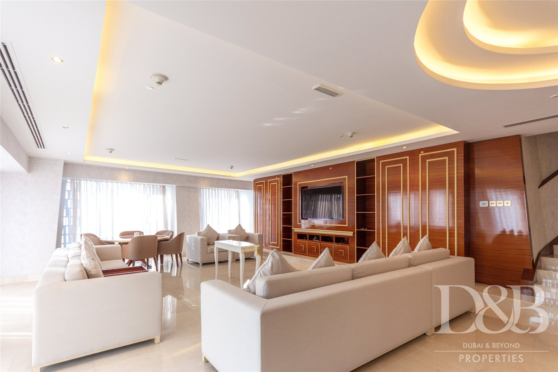 Stunning Sea View | Furnished | High Floor