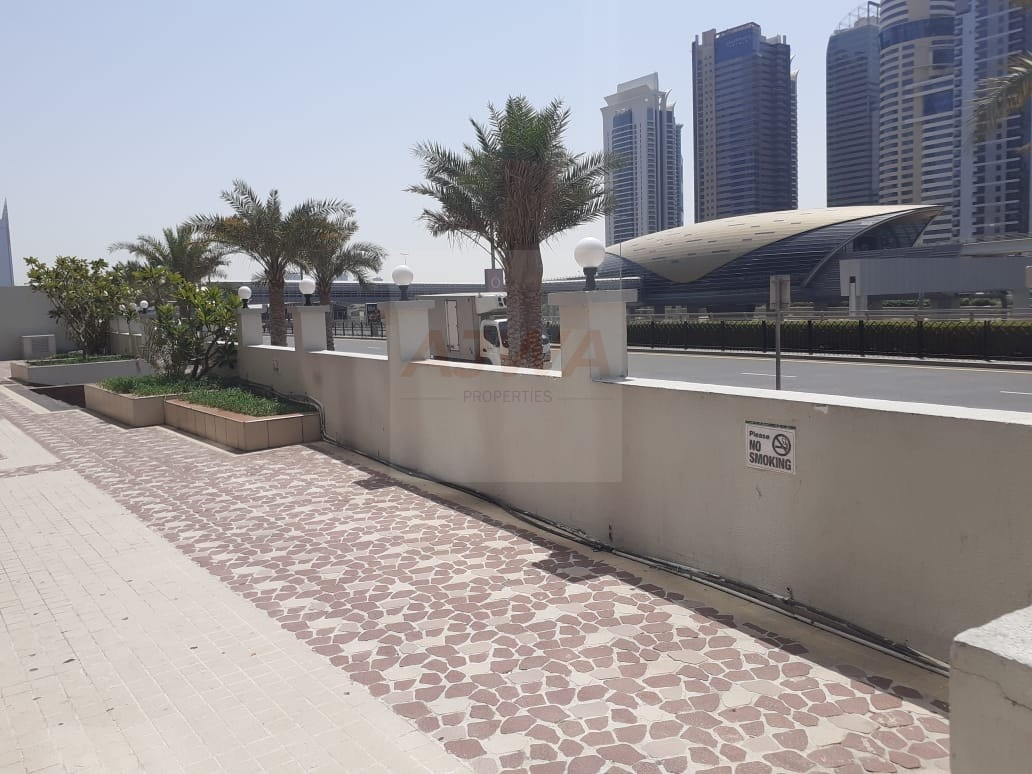 DUBAI MARINA  - Retail Shop Facing Sheikh Road Prime Location Best for Pharmacy