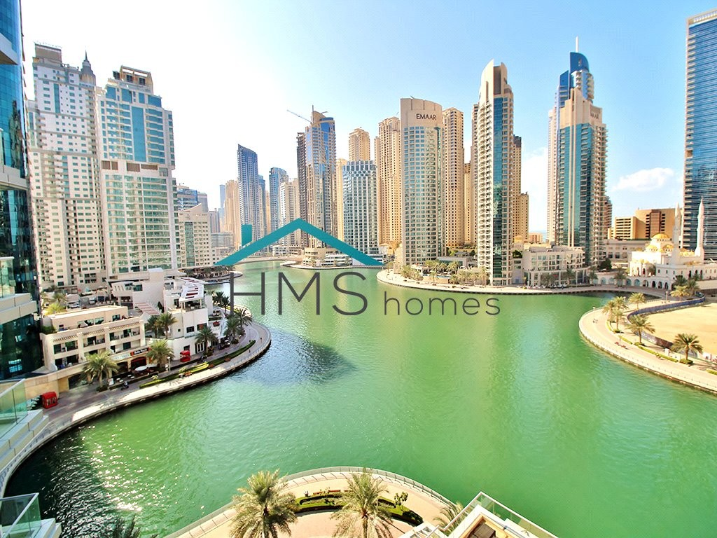 Large Furnished 3BR + Maids| Full Marina View