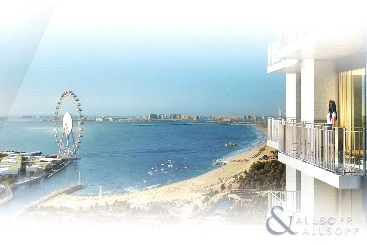 Full Sea and Dubai Eye View   Two Bedrooms