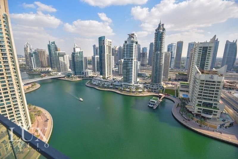 AVAILABLE | Full Marina View | 3 Balcony