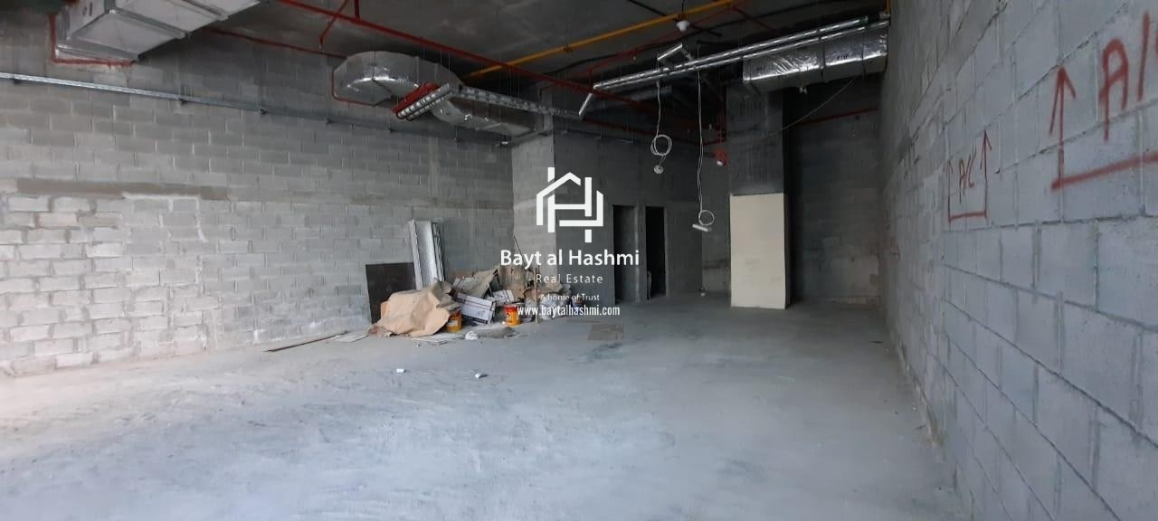 Shell & core Shop for rent on Marina Walk | Continental Tower