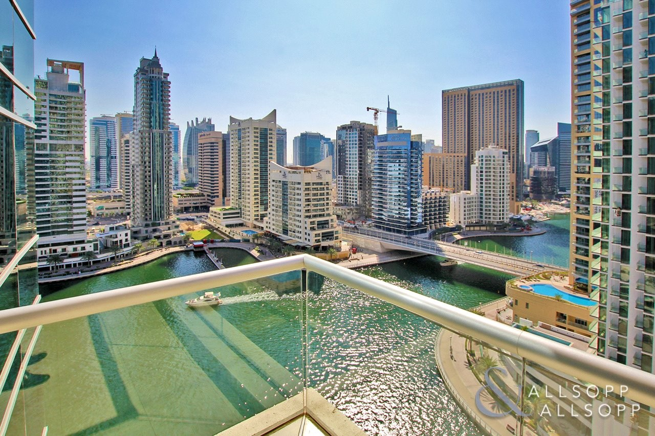 2 Bedrooms   Furnished   Full Marina View