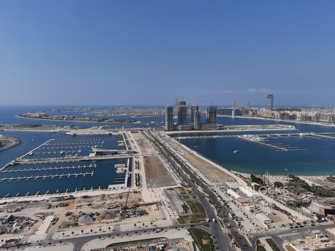 Fully Sea View, High Floor, 3 B/R+Maids