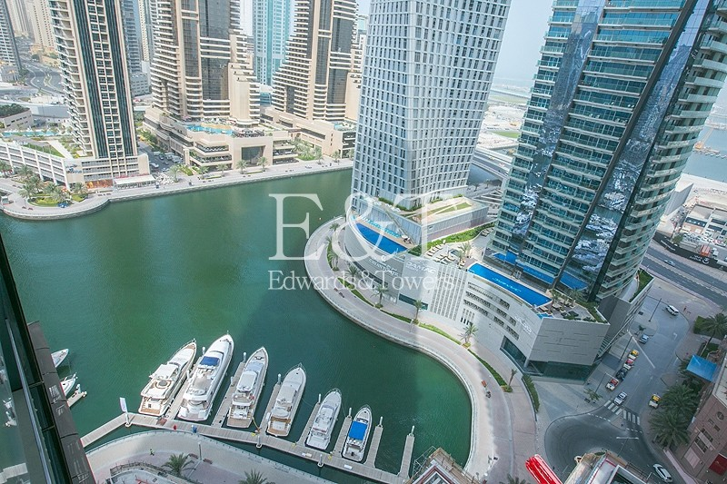 Sea and Palm View | Mid Floor | Rented