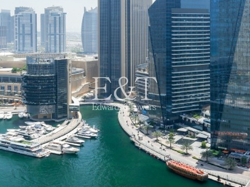 Furnished or Unfurnished|High Floor|Marina View