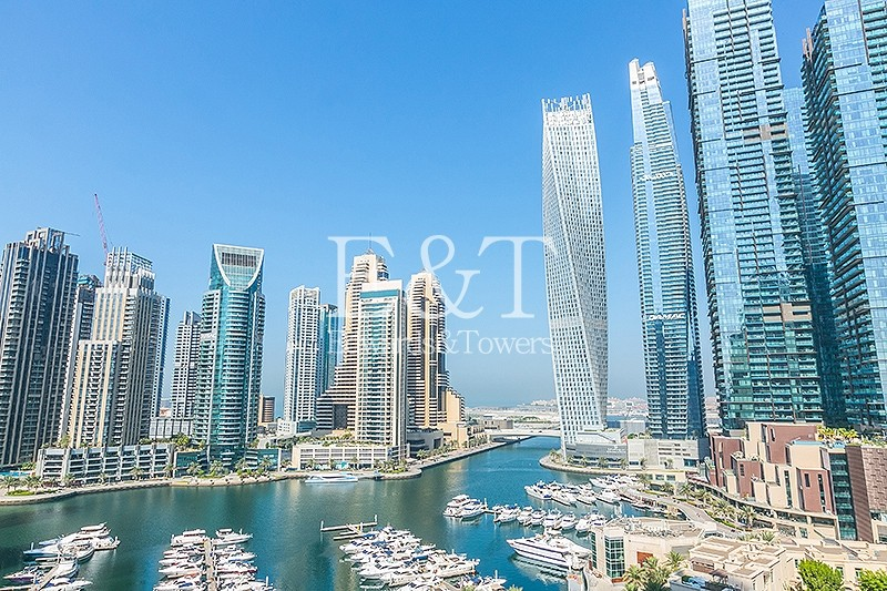 Ready to Move In | Mid Floor with Full Marina View