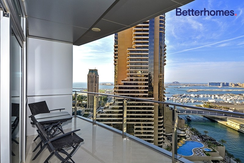 Marina View | Furnished | With Large Balcony
