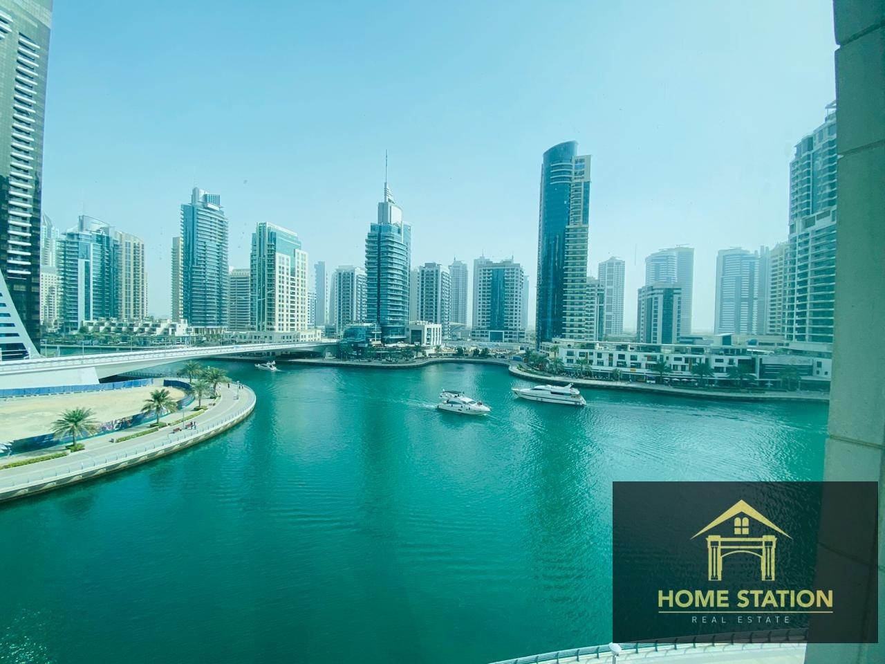 Chiller Free   Full Marina View 2 Bed Apartment