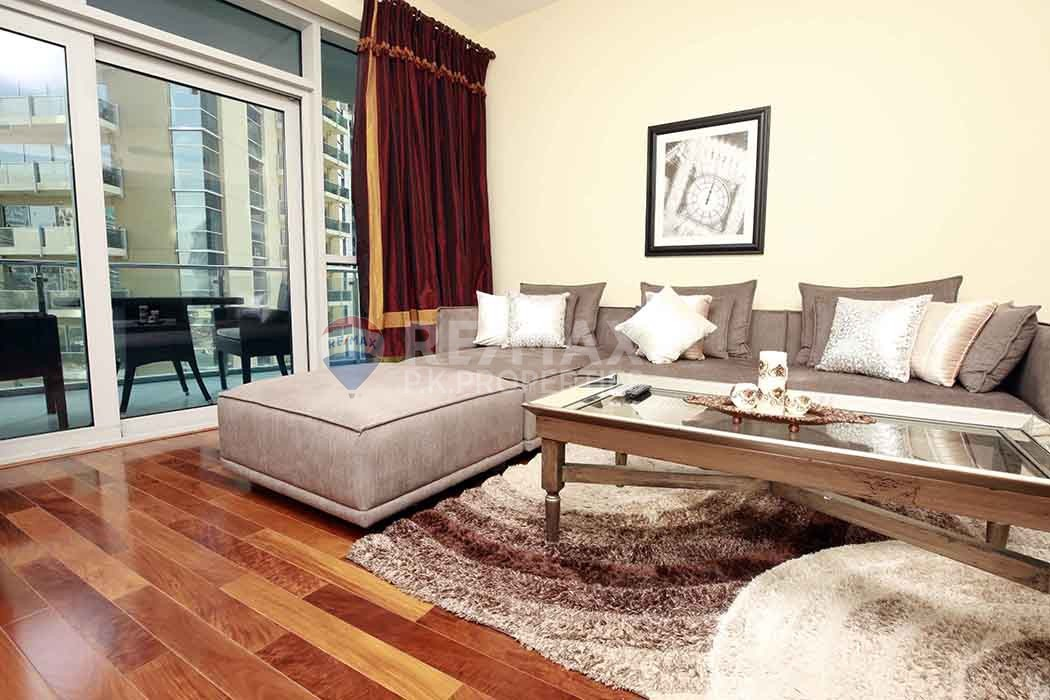 Vacant | Furnished 2 bed+maids | Full Marina view