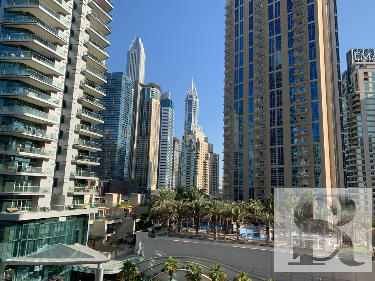 Spacious 2 BR + Maids | Low Floor | Marina View