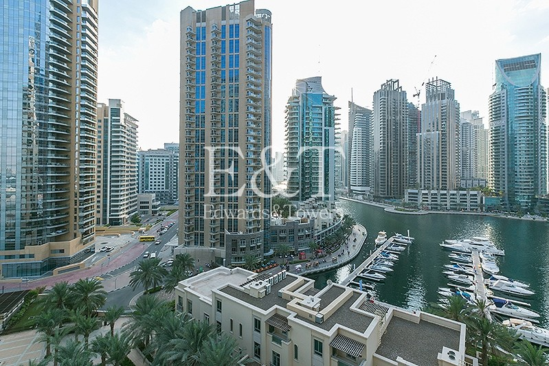 Beautiful Marina View on Middle Floor |Unfurnished