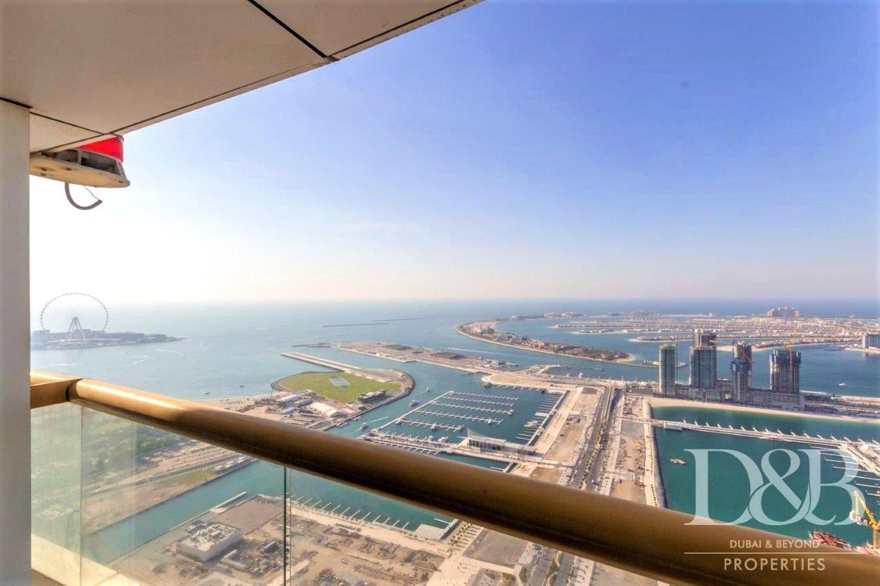 Palm & Dubai Eye View   High Floor   Vacant