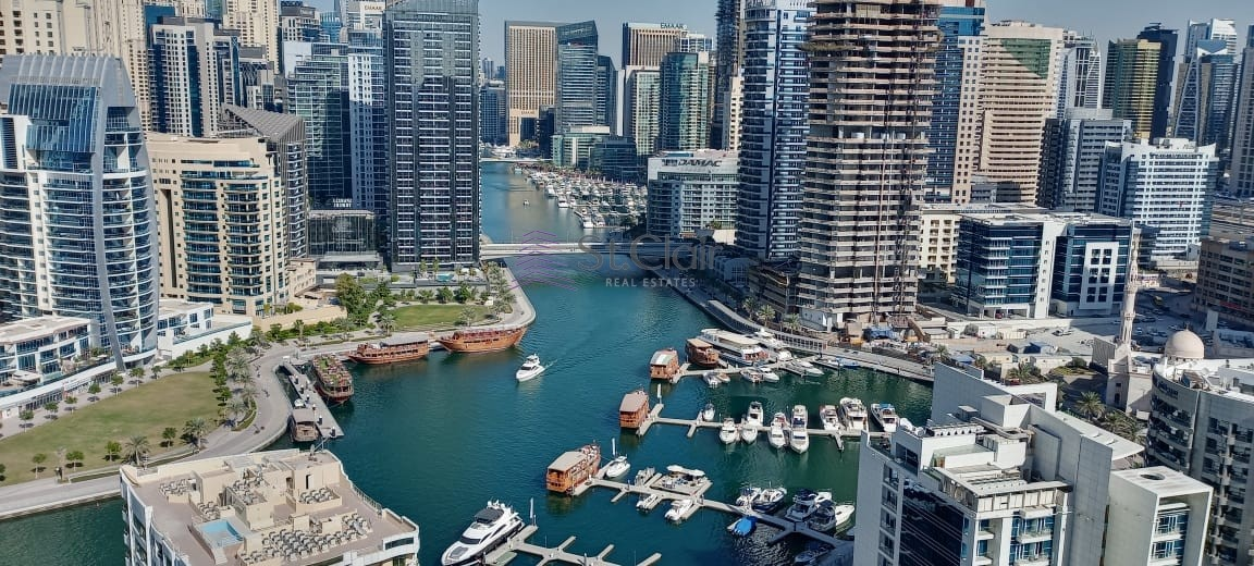 2 Bedrooms | Dubai Marina View | BRANDNEW |High Floor